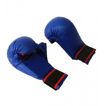 WKF Style Competion Karate Mitts - Blue