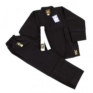 Academy Sports Black V-Neck Suit