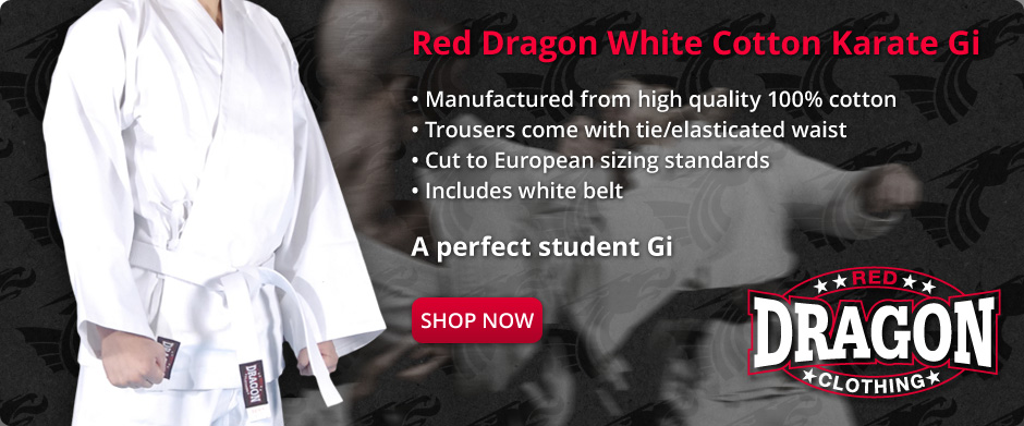 Red Dragon Karate Suit