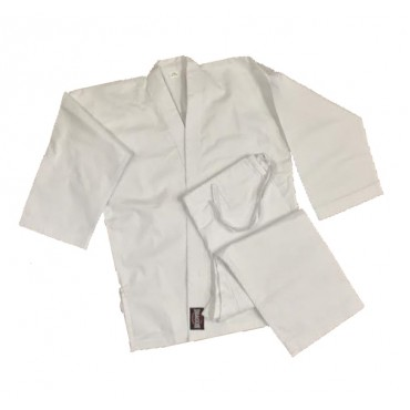 Red Dragon Adult White 9oz Cotton Karate Gi