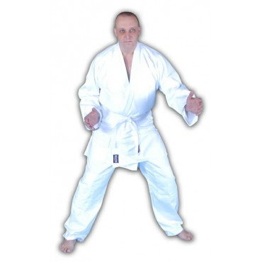 Red Dragon Adult White Cotton Judo Gi