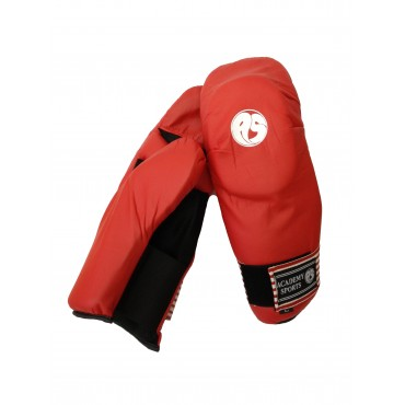 Academy Sports Sparring Gloves Red