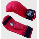 Top Fight - PU Competion Karate Mitt with Thumb - Red