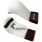 Top Fight PU Competition Karate Mitt with Thumb - White