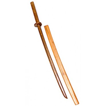 Natural Bokken and Scabbard