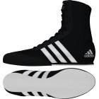 Adidas Box Hog Boxing Boots Black/White
