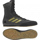 Adidas Box Hog Plus Boxing Boots Black/Gold